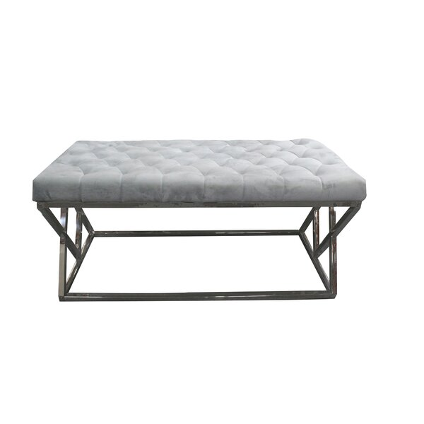 Munz Upholstered Bench by House of Hampton