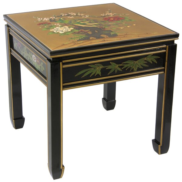 Maurice Ming End Table by World Menagerie