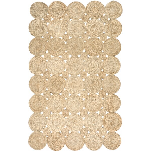 Caroline Hand-Woven Natural Area Rug by Laurel Foundry Modern Farmhouse