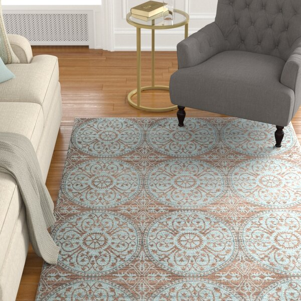 Regis Brown/Alpine Area Rug by Charlton Home