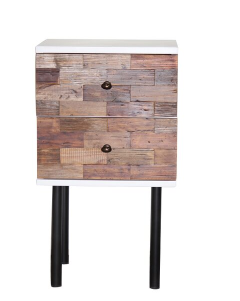 Lebel Modern End Table by Union Rustic
