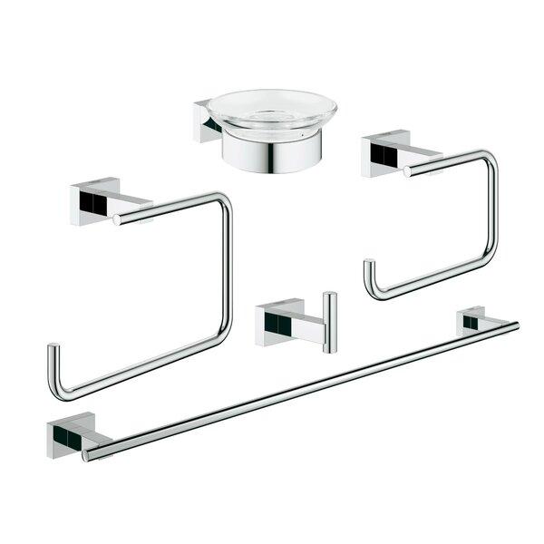 Essentials 5 Piece Bathroom Hardware Set by Grohe