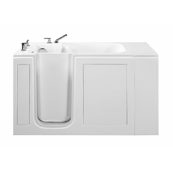 51.5 x 37.5 Walk In Whirlpool Bathtub by Reliance