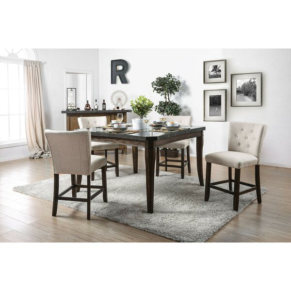 Jere 5 Piece Counter Height Dining Set by Canora Grey