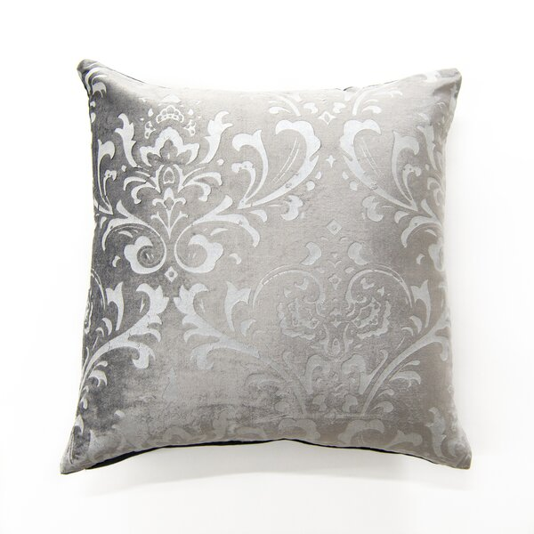 Meriwether Damask Pillow Cover by Charlton Home| @ $22.99