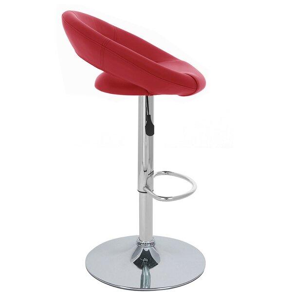 Rho Adjustable Height Swivel Bar Stool (Set of 2) by Vandue Corporation