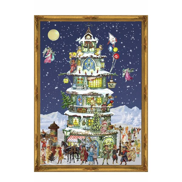 Sellmer Large Victorian Tower Advent Calendar by The Holiday Aisle