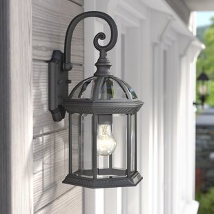 Bunker Hill 1-Light Outdoor Wall Lantern By Alcott Hill Outdoor Lighting