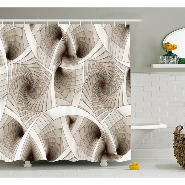 Sci Fi Shower Curtain by East Urban Home
