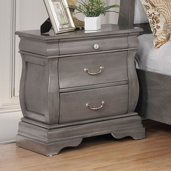 Walter 3 Drawer Nightstand by Darby Home Co