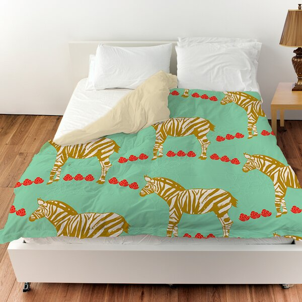 Zebra Duvet Cover by Manual Woodworkers & Weavers