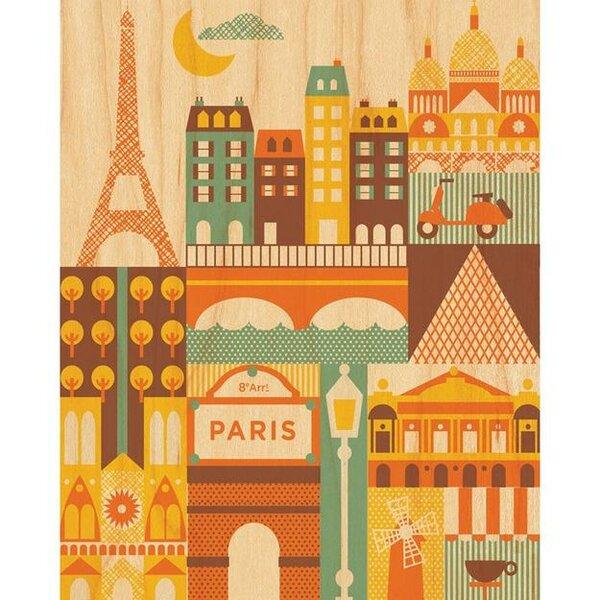 Paris Decorative Plaque by Petit Collage