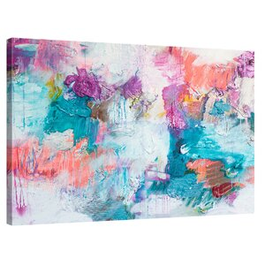 'I Think I Spilled Something' by Kent Youngstrom Painting Print on Wrapped Canvas by Jaxson Rea
