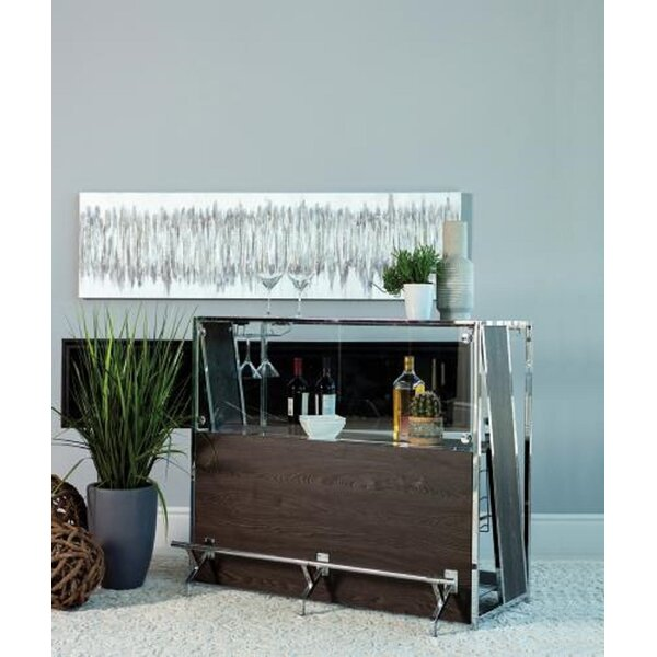 Winona Bar With Wine Storage By Foundry Select