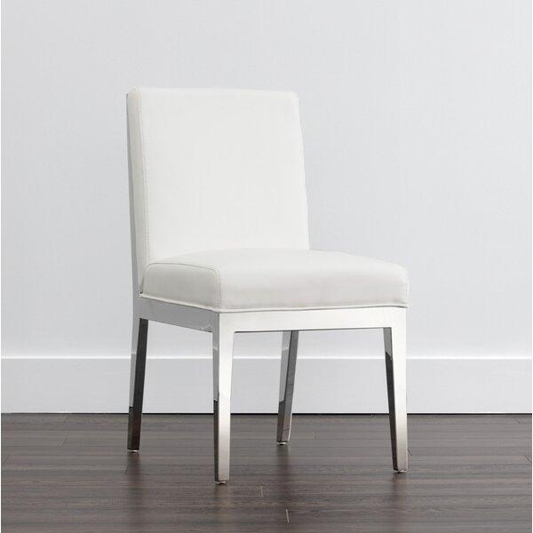 Place Upholstered Dining Chair (Set of 2) by Orren Ellis Orren Ellis