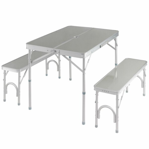 Segura Portable Folding Picnic Table Set by Freeport Park