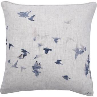 Charlton Home Mohammed Linen Throw Pillow Wayfair
