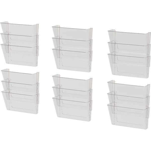 Unbreakable Letter Wall File (Set of 18) by Storex