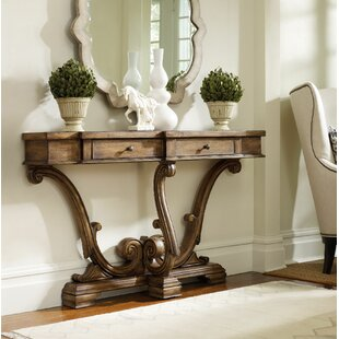 Affordable Sanctuary Console Table ByHooker Furniture