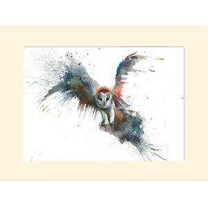 'Eric in Flight' Watercolour Painting Print