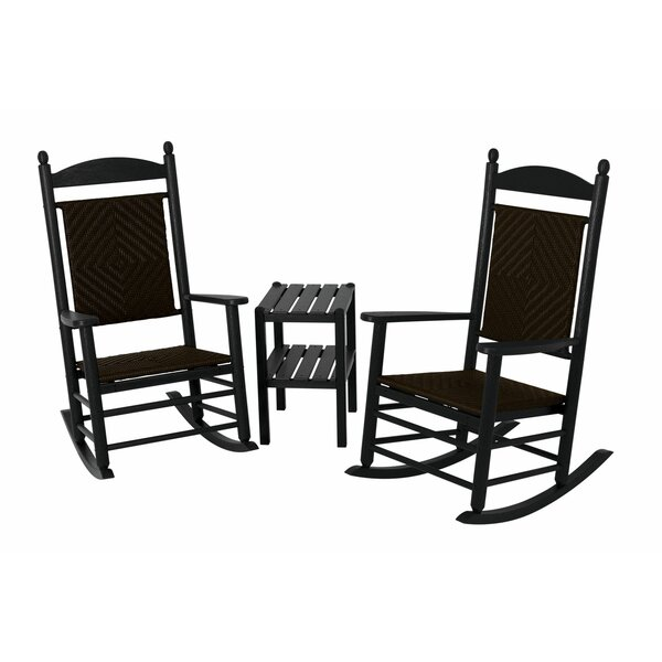 Jefferson 3-Piece Rocking Chair Set by POLYWOOD®