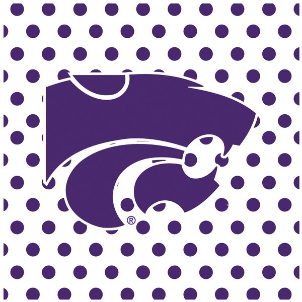 Kansas State University Occasions Square Trivet by Thirstystone