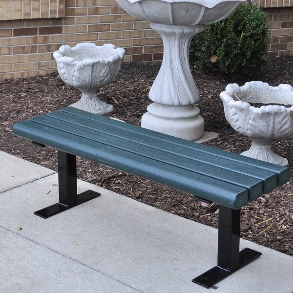 Creekside Recycled Plastic Park Bench by Frog Furnishings