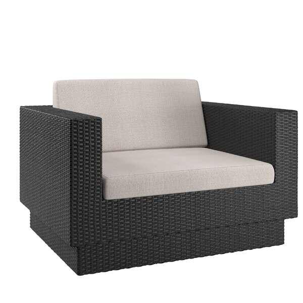 Chretien Armchair with Cushions by Brayden Studio