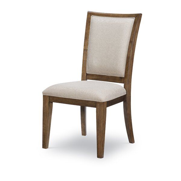Hepburn Upholstered Side Chair Classic Brown (Set Of 2) By Alcott Hill