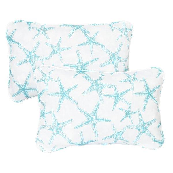 Hakes Corded Indoor/Outdoor Lumbar Pillow (Set of 2) by Brayden Studio
