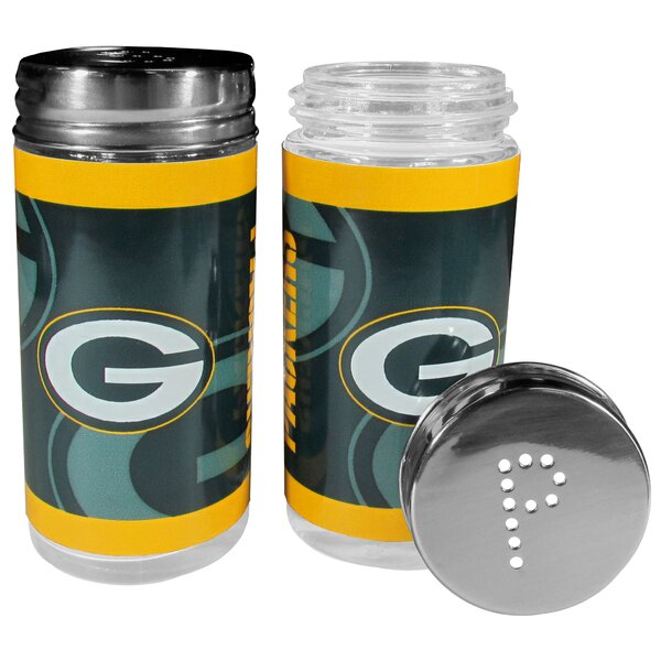 NFL 2 Piece Shakers Salt and Pepper Set by Siskiyou Products