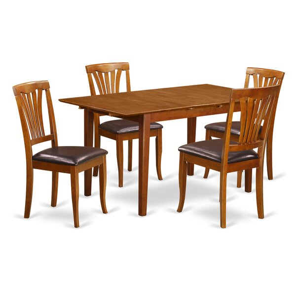 Cartley Extendable Dining Set by Red Barrel Studio Red Barrel Studio