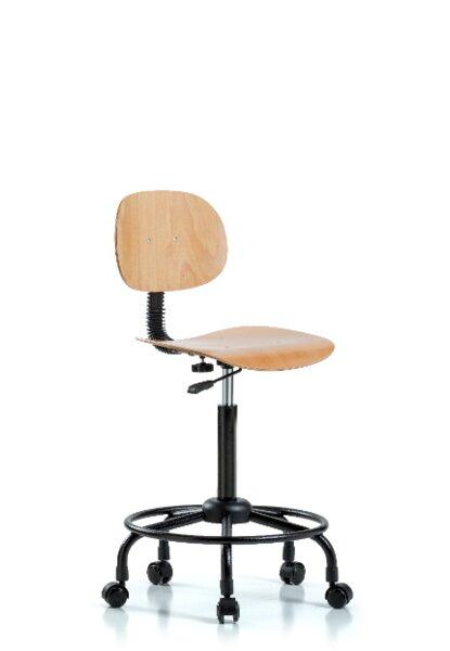 Susana Round Tube Base Ergonomic Office Chair by Symple Stuff