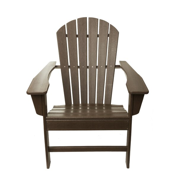 Poly Recycled Plastic Folding Adirondack Chair by Aspen Brands