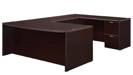 Fairplex U-Shape Executive Desk by Flexsteel Contract