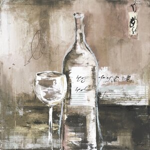 'Wine Cellar I' by Bridges Painting Print on Wrapped Canvas by Portfolio Canvas Decor