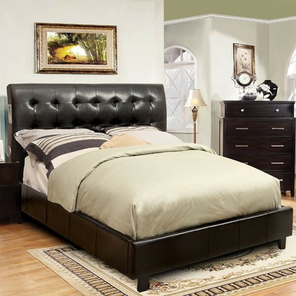 Modern  Rydell Upholstered Platform Bed By Winston Porter Great Reviews