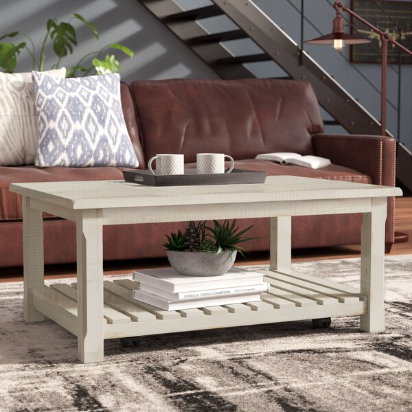 Benefield Coffee Table by 17 Stories