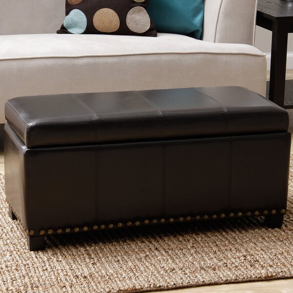 Edmond Upholstered Storage Bench by Red Barrel Studio