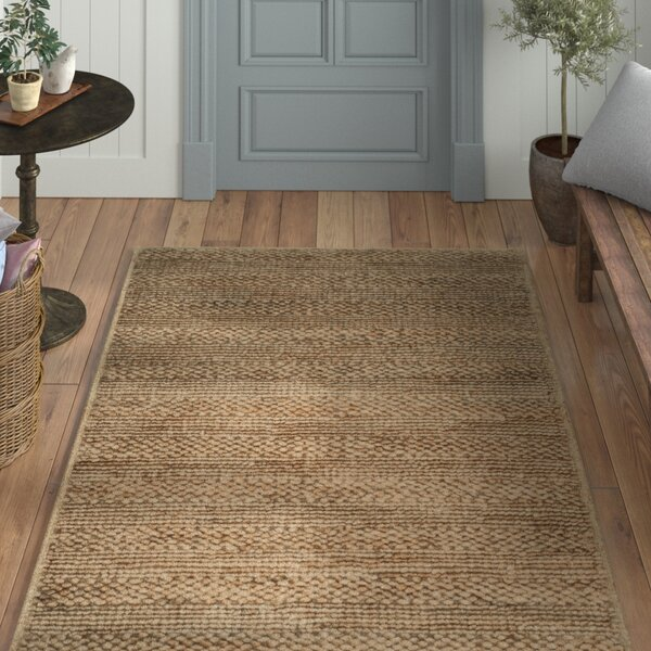Portage Hand-Woven Natural Area Rug by Laurel Foundry Modern Farmhouse