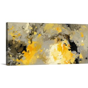 'Star Cloud' by Shirley Novak Painting Print on Wrapped Canvas by Great Big Canvas