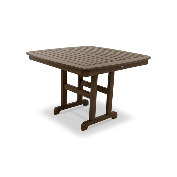 Yacht Club Plastic/Resin Dining Table By Trex Outdoor by Trex Outdoor 2020 Coupon