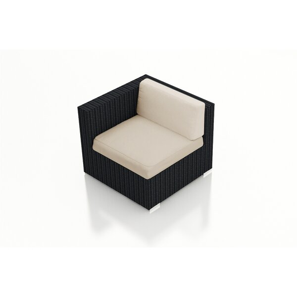 Azariah Patio Chair with Cushion by Orren Ellis