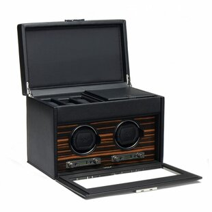 Compare & Buy Roadster Double Watch Box By WOLF
