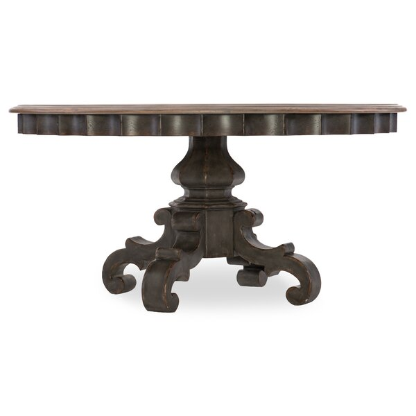 Arabella 60in Round Pedestal Dining Table Top by Hooker Furniture