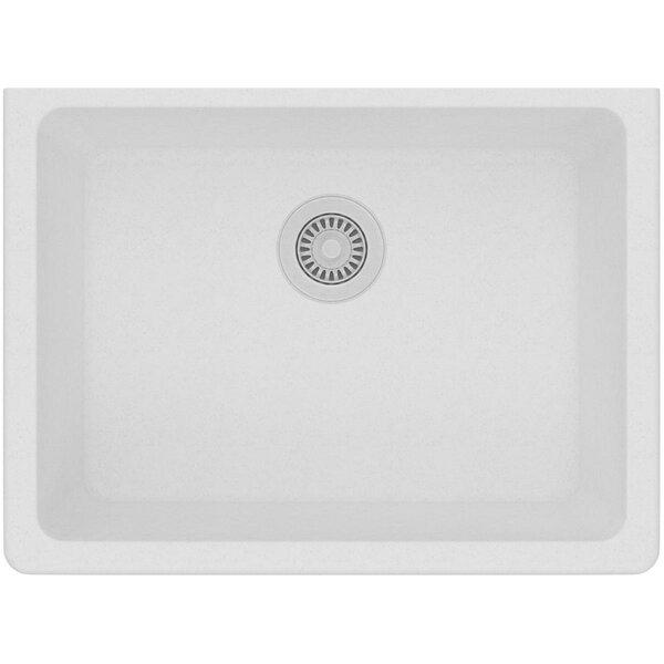 Quartz Classic 25 L x 19 W Undermount Kitchen Sink by Elkay