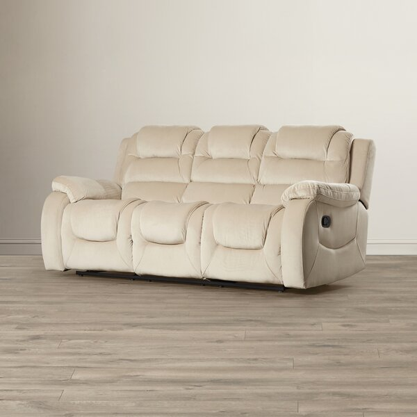 New Collection Staas Dual Reclining Sofa by Red Barrel Studio by Red Barrel Studio