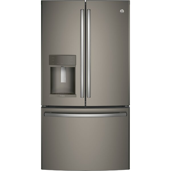 22.2 cu. ft. Energy Star® Counter Depth French Door Refrigerator with Hands-free Autofill by GE Profile™