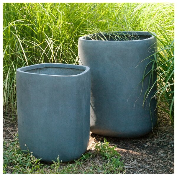 Tombo 2-Piece Clay Pot Planter Set by Gold Leaf Design Group