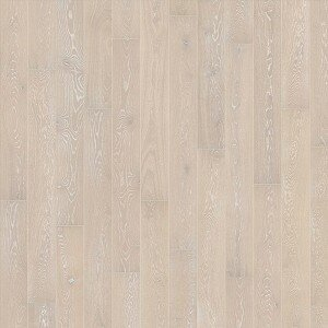 Classic Nouveau 7-3/8 Engineered Oak Hardwood Flooring in Snow by Kahrs
